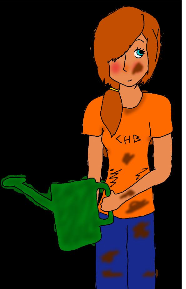 Gardener clipart boy. Katie by booknerd on