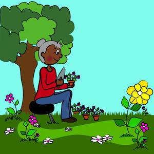 Free garden download clip. Gardener clipart cartoon