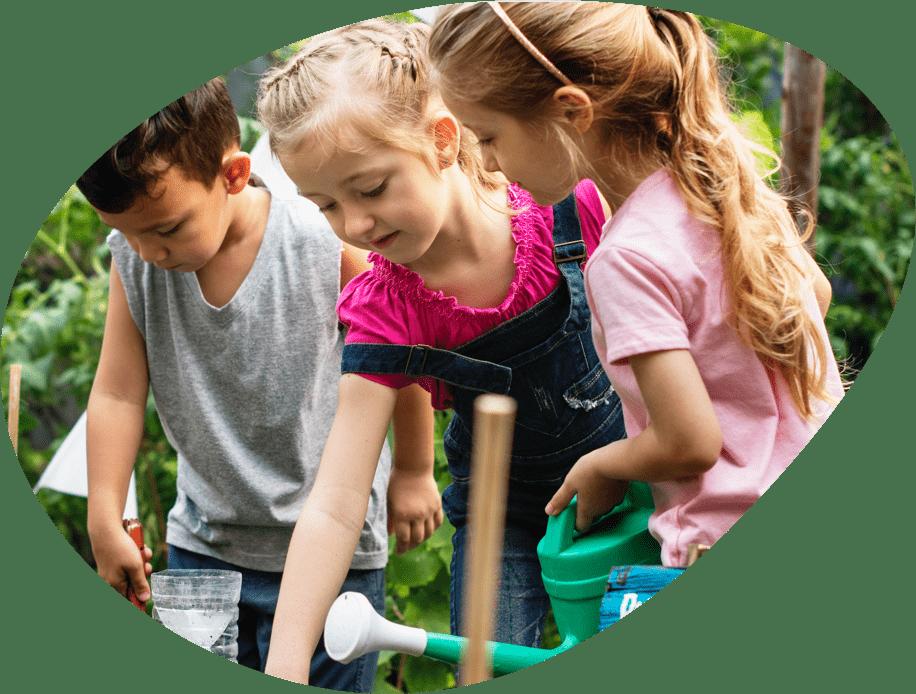 Gardener clipart childrens garden. National children s gardening