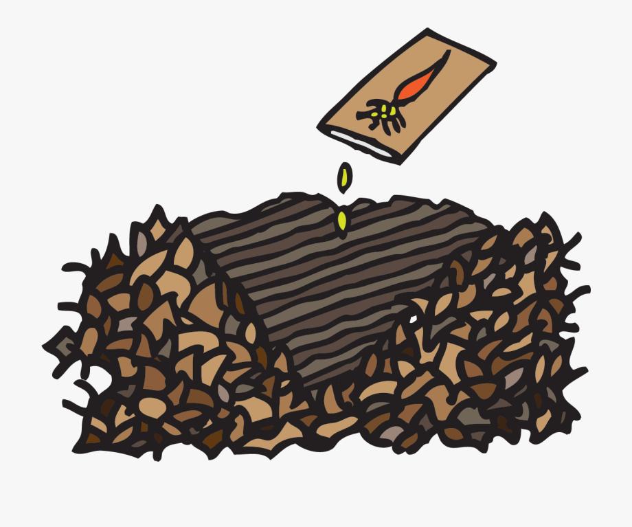 Gardener mulch cliparts . Gardening clipart compost