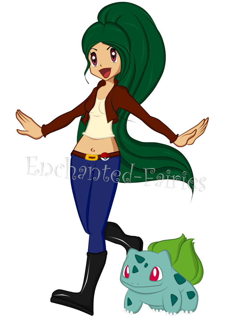 Lina pokemon by enchanted. Gardener clipart father