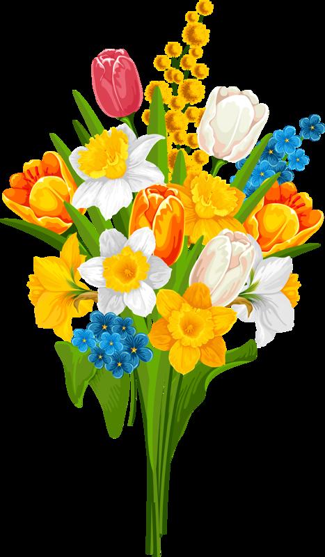 tulipanes pinterest flowers. Gardener clipart garden basket