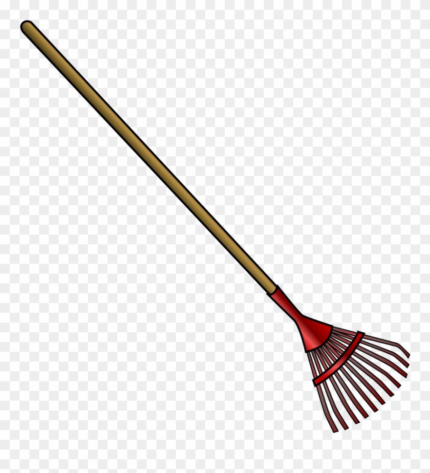 Gardener clipart garden rake. Shears gardening