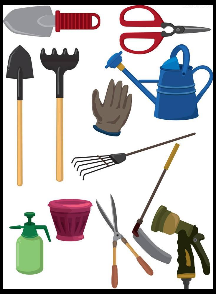 Garden tool gardening cartoon. Mowing clipart cartoonlawn