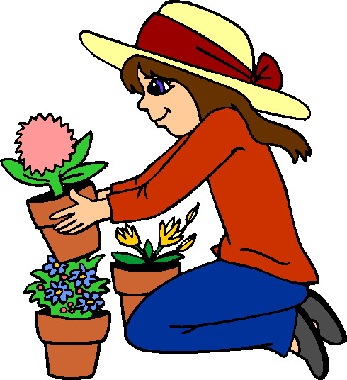 Gardening clipart mother.  gardener clipartlook