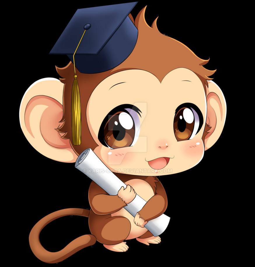 Monkey commission by karis. Gardener clipart gardin