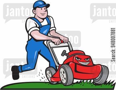 Cartoons humor from jantoo. Gardener clipart groundskeeper