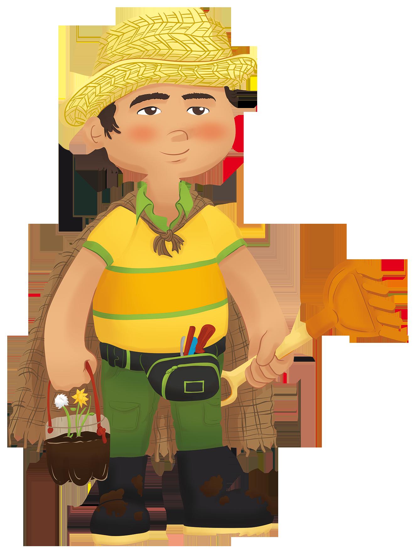 Cristian le n buitrago. Gardener clipart handyman