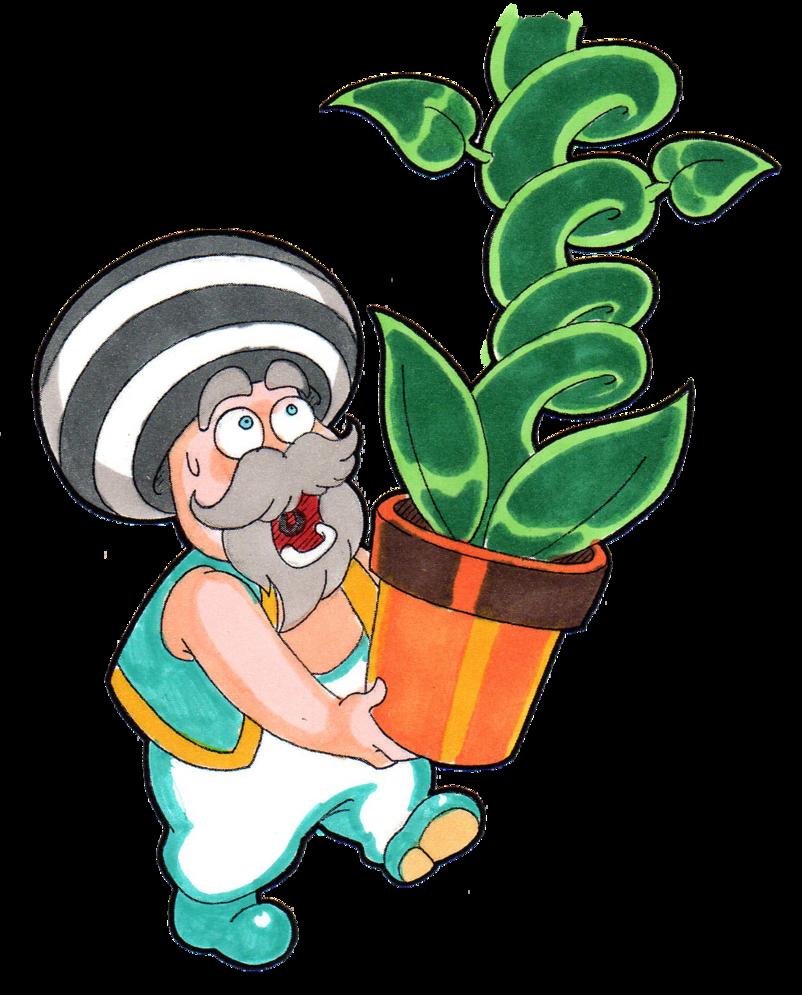 Super mario rpg the. Gardener clipart lady gardener