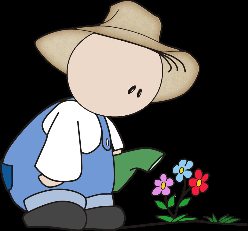 Americo lgardener b png. Gardener clipart little girl