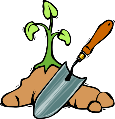 Gardener clipart livelihood. Vegetable garden panda free
