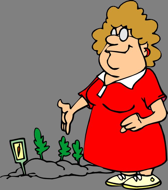 Gardener clipart male gardener. Cartoon joke gardening clip