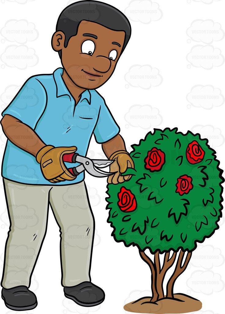Portal . Gardener clipart male gardener