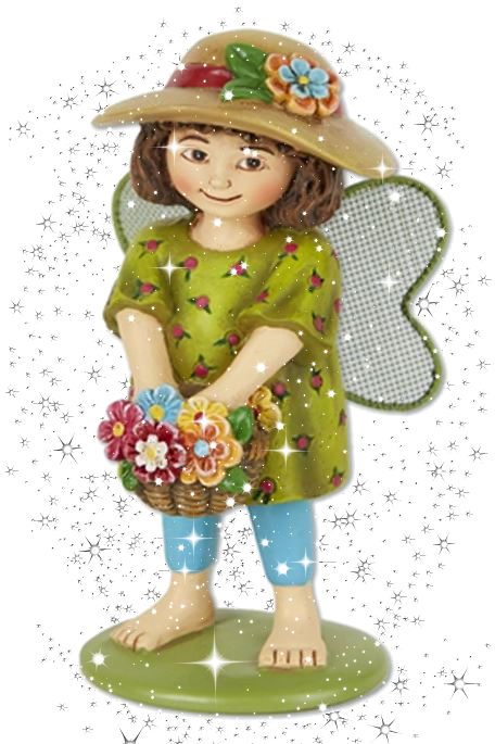 Mary engelbreit fairies www. Gardener clipart mini garden