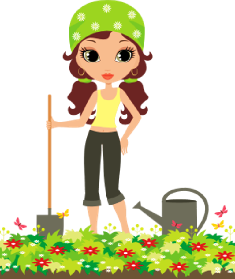 Diary of a mad. Gardener clipart mother