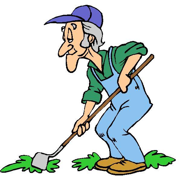Download fr hjahrsputz peterson. Gardener clipart old gardener