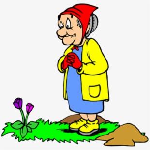 Gardener clipart old gardener. Straw hat free cliparts