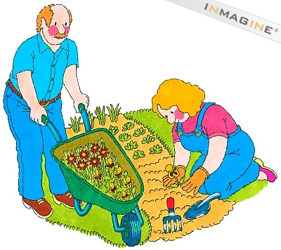 Gardening clipart planting. Free organic garden cliparts