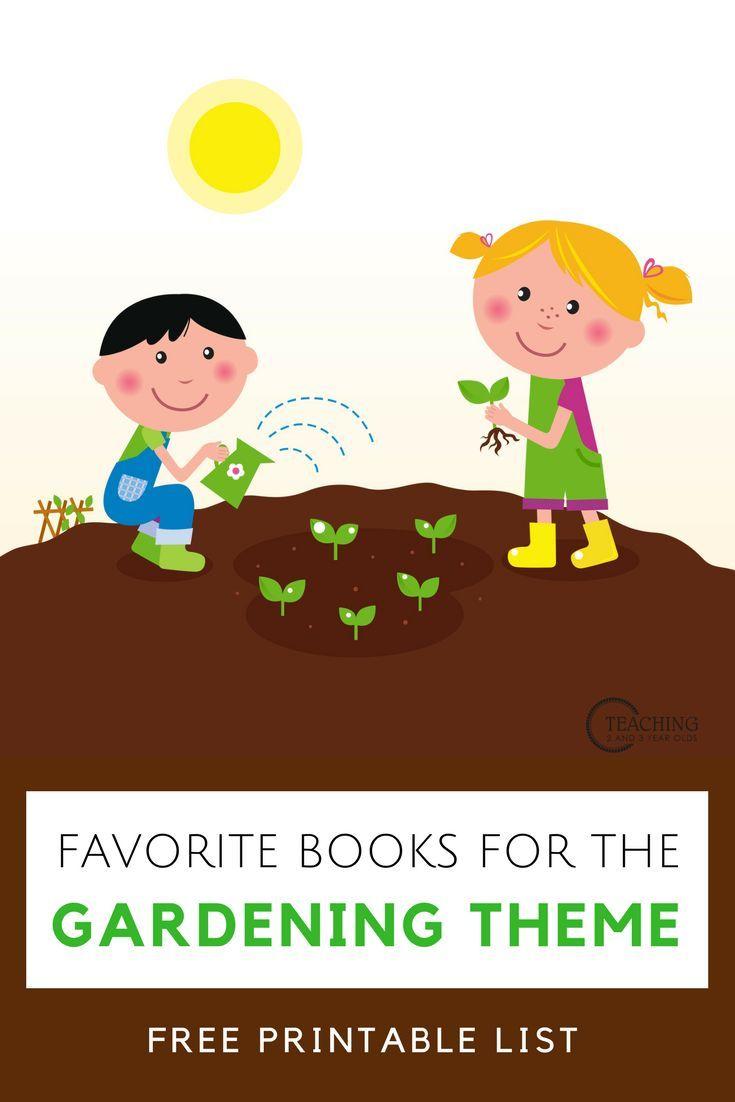 of the best. Gardener clipart preschool
