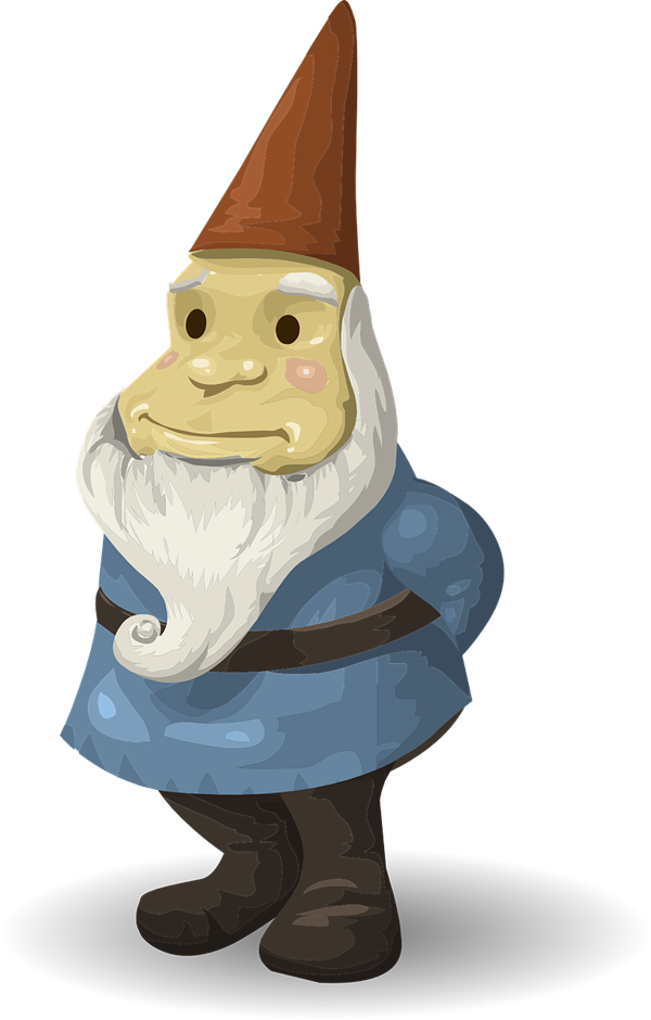 Free gnome png transparent. Gardener clipart svg