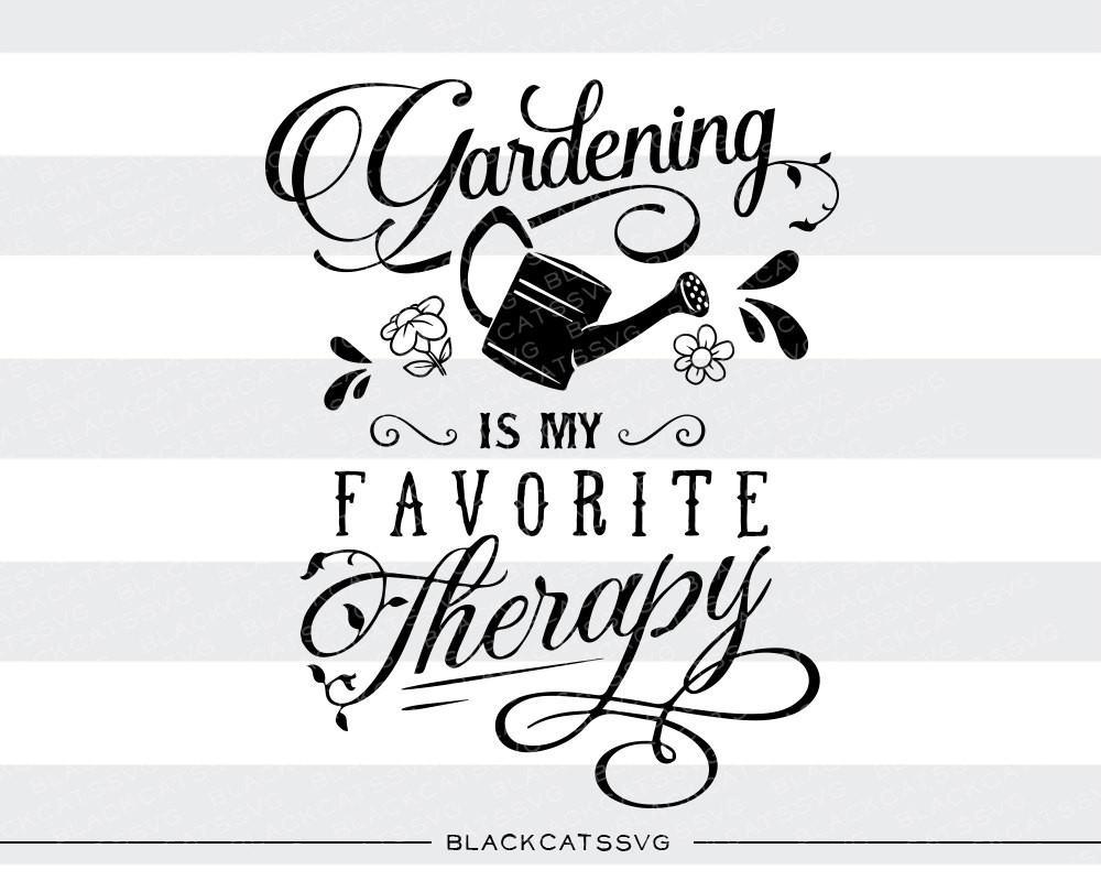Gardening is my favorite. Gardener clipart svg