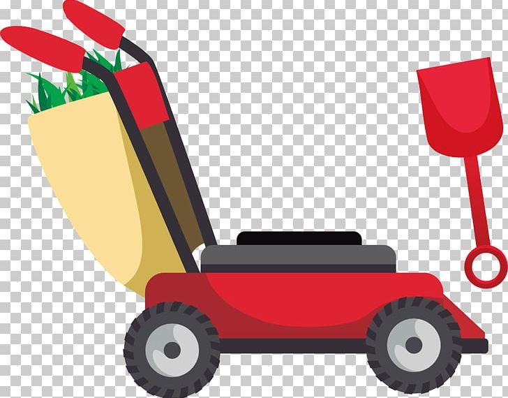 Garden tool png car. Gardening clipart useful material