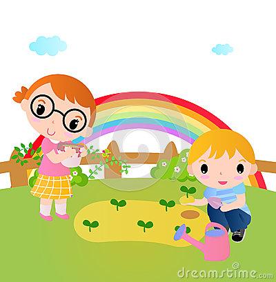 Gardening clipart children's. Free planting garden cliparts