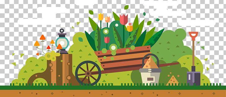 Yard garden tool png. Gardening clipart city
