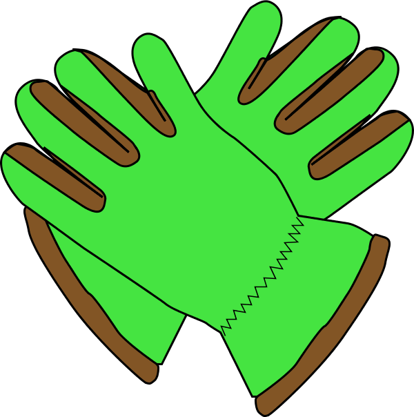 Mittens clipart warm glove. Gardening gloves clipground garden