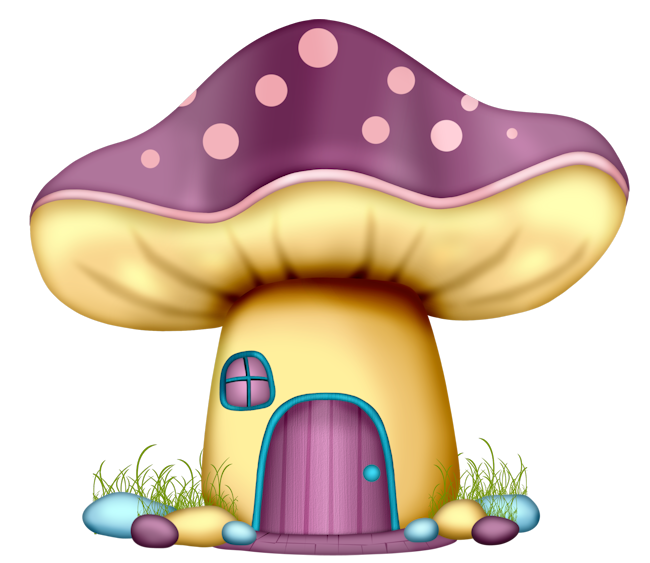eccc ad e. Mushrooms clipart vintage