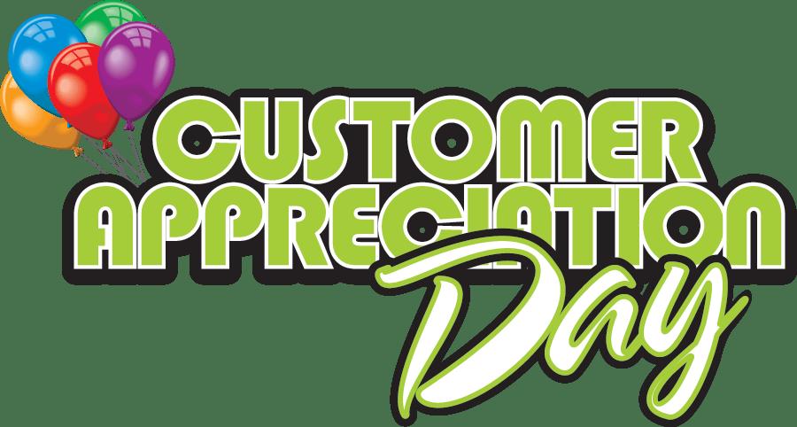 Shop clipart customer. Saturday april is appreciation
