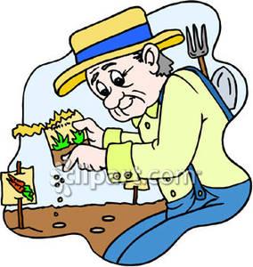 Gardener free download best. Gardening clipart old man