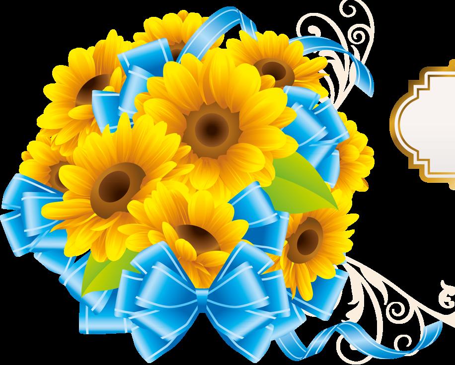 Transparent sunflowers png image. Gardening clipart tall sunflower