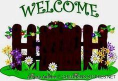best garden club. Gardening clipart welcome home