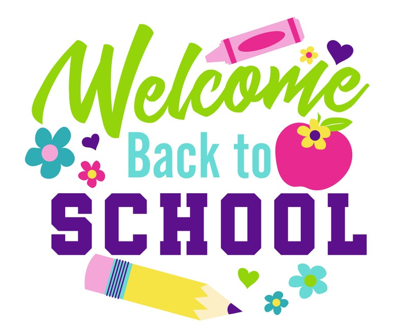 Gardening clipart welcome home. Svg back to school