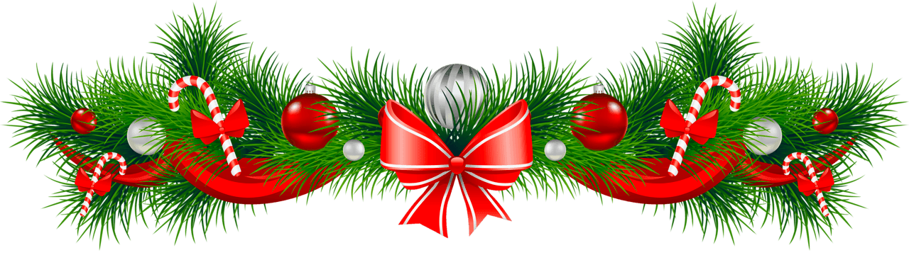 Garland clipart. Free christmas the cliparts