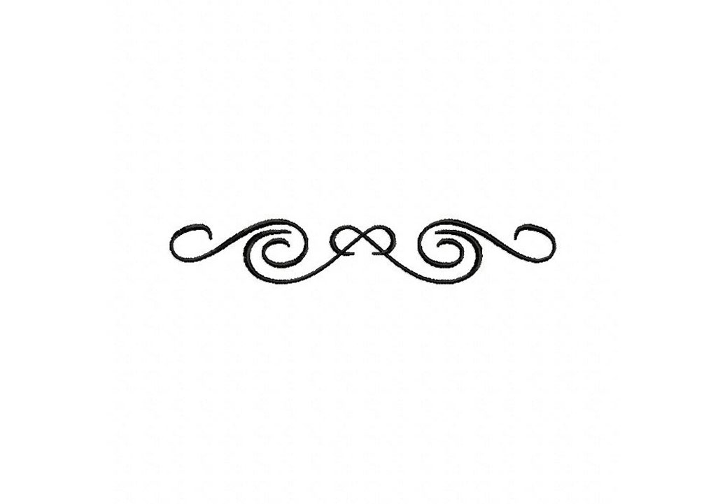 Collection of decorative free. Swirl clipart accent