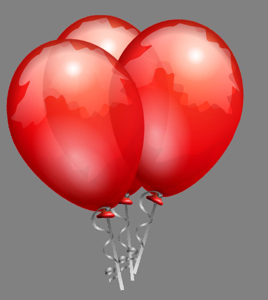 Garland clipart balloon. Red balloons cut out
