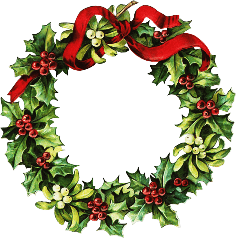Evergreen cliparts zone vintage. Garland clipart bough