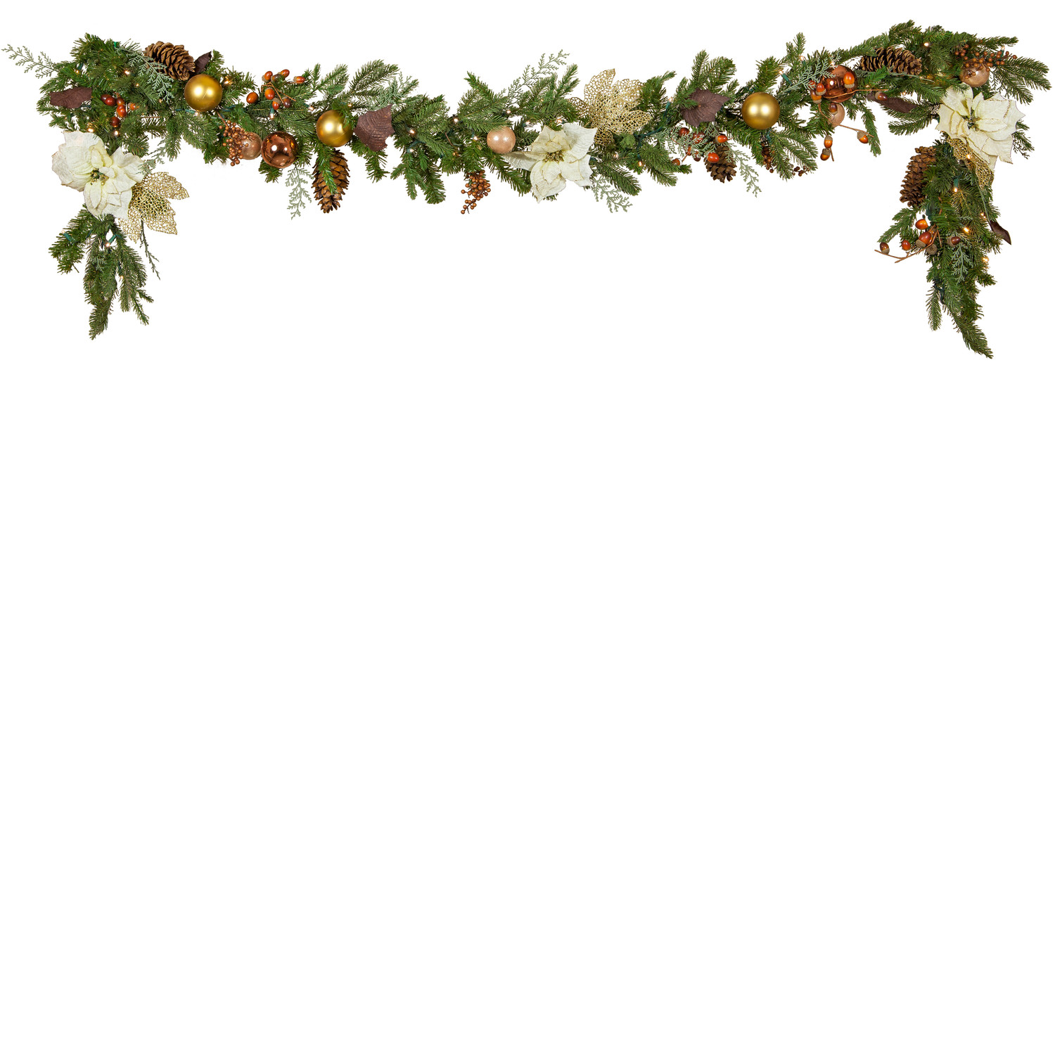 Christmas cliparts zone . Garland clipart bough