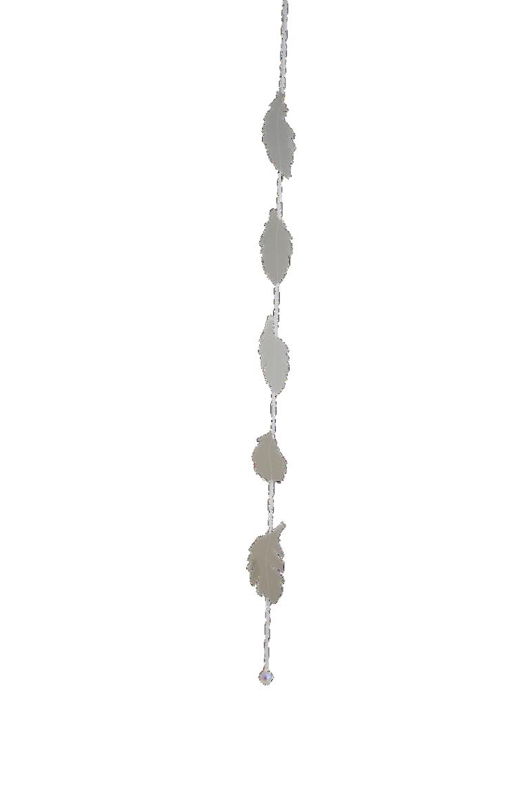 Interiors page salingers little. Garland clipart fern