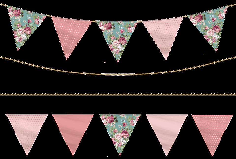 Garland clipart flag. Free image on pixabay