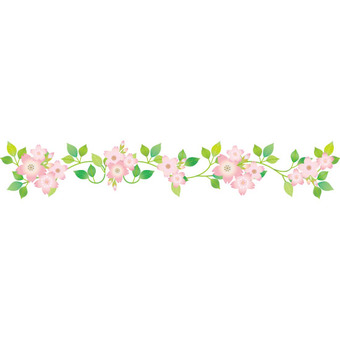 Garland clipart flower garland. Free cliparts cherry blossoms
