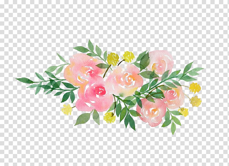 Painting of flowers pregnancy. Garland clipart flower garland