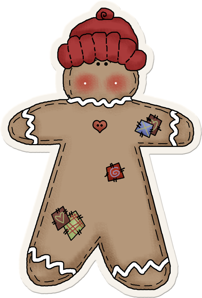 Elements png man and. Gingerbread clipart month