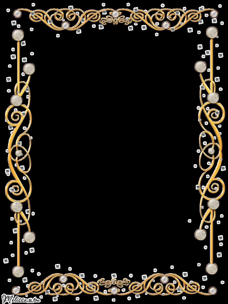 Garland clipart gold. Flower frame png hd