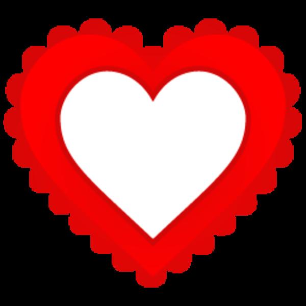 Garland clipart heart. Empty clip art image