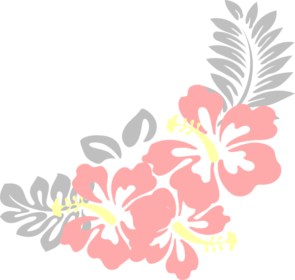 Nat clip art at. Hibiscus clipart garland
