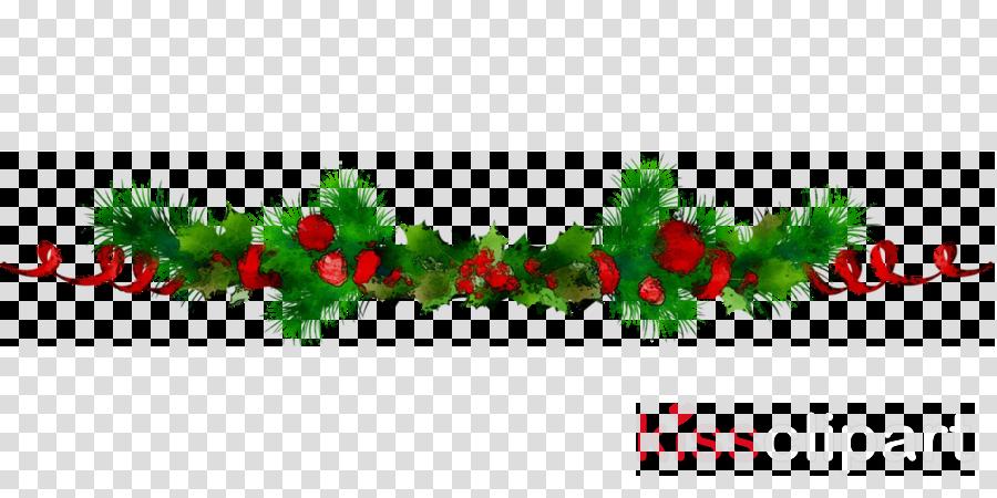 Christmas wreath . Garland clipart illustration