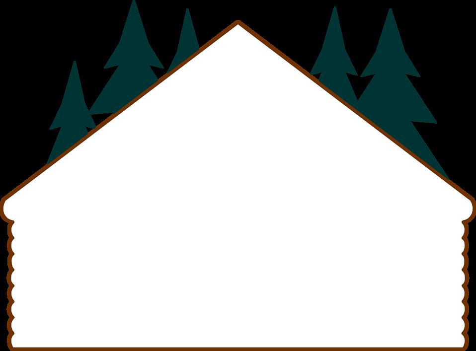 Of a blank log. Garland clipart illustration